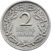 J.320 • 2 Reichsmark 1931 D