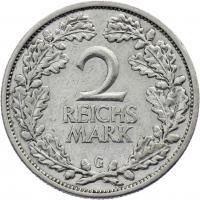 J.320 • 2 Reichsmark 1931 G