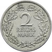 J.320 • 2 Reichsmark 1931 J