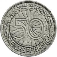 J.324 • 50 Reichspfennig 1931 J