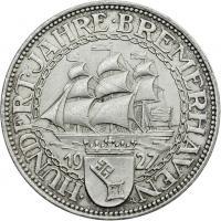 J.326 • 5 Reichsmark Bremerhaven 1927