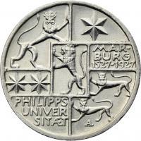 J.330 • 3 Reichsmark Marburg 1927