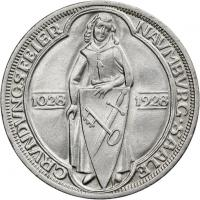 J.333 • 3 Reichsmark Naumburg 1928