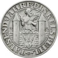 J.334 • 3 Reichsmark Dinkelsbühl 1928