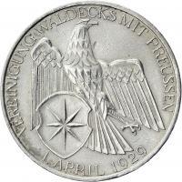 J.337 • 3 Reichsmark Waldeck 1929