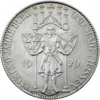 J.339 • 5 Reichsmark Meißen 1929