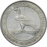 J.346 • 5 Reichsmark Rhein/Strom 1930 E