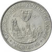 J.347 • 3 Reichsmark Magdeburg 1931