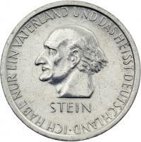 J.348 • 3 Reichsmark Stein 1931