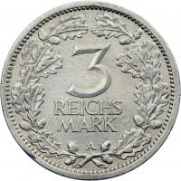 J.349 • 3 Reichsmark 1931 A