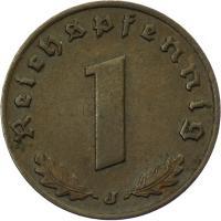 J.361 • 1 Reichspfennig 1936 J