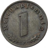 J.361 • 1 Reichspfennig 1936 F