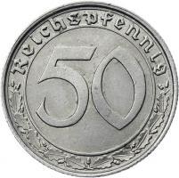 J.365 • 50 Reichspfennig 1939 A
