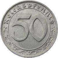 J.365 • 50 Reichspfennig 1939 G