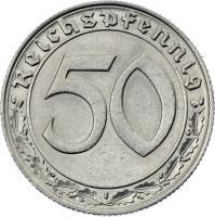 J.365 • 50 Reichspfennig 1938 E