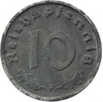 J.375 • 10 Reichspfennig 1945 F