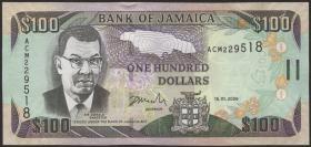 Jamaika / Jamaica P.84b 100 Dollars 2006 (1)