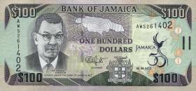 Jamaika / Jamaica P.90 100 Dollars 2012 Gedenkbanknote (1)