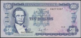 Jamaika / Jamaica P.72b 20 Dollars 1987 (1)