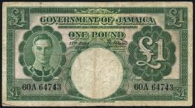 Jamaika / Jamaica P.41b 1 Pound 1950 (4)