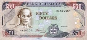 Jamaika / Jamaica P.79e 50 Dollars 2004 (1)