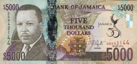 Jamaika / Jamaica P.93 5000 Dollars 2012 Gedenkbanknote (1)