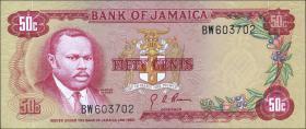 Jamaika / Jamaica P.53 50 Cents (1970) (1)