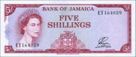 Jamaika / Jamaica P.51Aa 5 Shillings (1964) (1)