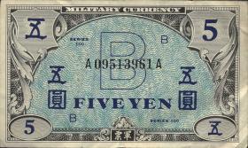 Japan P.069 5 Yen (1945) Militärgeld B (3)
