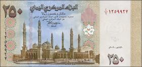 Jemen / Yemen arabische Rep. P.35 250 Rials (2009) (1)