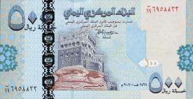 Jemen / Yemen arabische Rep. P.34 500 Rials 2007 (1)