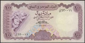 Jemen / Yemen arabische Rep. P.21A 100 Rials (1984) (1)