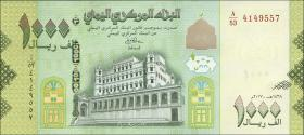 Jemen / Yemen arabische Rep. P.neu 1000 Rials 2017 (1)