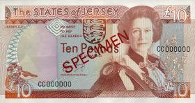 Jersey P.17s 10 Pounds (1989) Specimen (1)