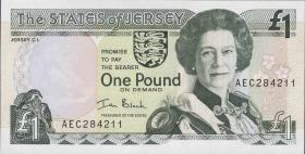 Jersey P.26b 1 Pound (2000) (1)
