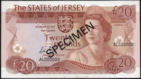Jersey P.14s 20 Pounds (1976-88) (1) Specimen