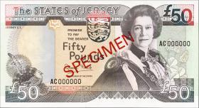 Jersey P.24s 50 Pounds (1993) Specimen (1)