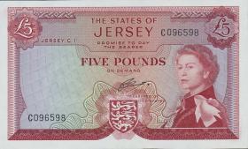 Jersey P.09b 5 Pounds (1963) (1)