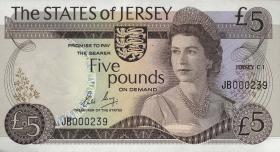 Jersey P.12b 5 Pounds (1976-88) (1)