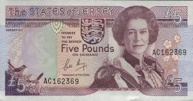 Jersey P.16 5 Pounds (1989) (1)