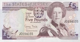 Jersey P.21 5 Pounds (1993) (1)