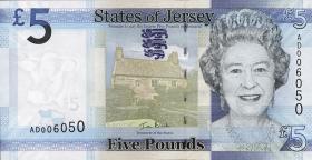 Jersey P.33 5 Pounds 2010 (1)