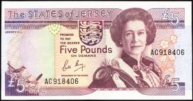 Jersey P.16 5 Pounds (1989) (2)
