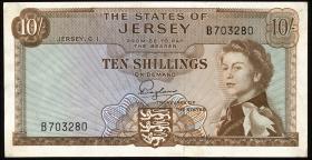 Jersey P.07 10 Shillings (1963) (2)