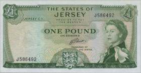 Jersey P.08b 1 Pound (1963) (1)