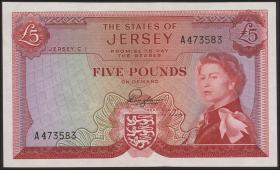 Jersey P.09a 5 Pounds (1963) (1)