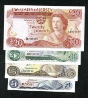 Jersey P.11-14a 1 - 20 Pounds (1976-88) AB 000090 (1)