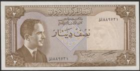 Jordanien / Jordan P.13c 1/2 Dinar 1959 (1)