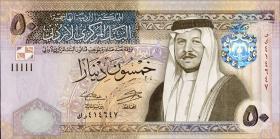 Jordanien / Jordan P.neu 50 Dinar 2014 (1)