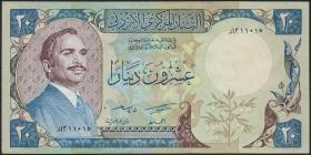 Jordanien / Jordan P.22b 20 Dinars 1982 (1/1-)